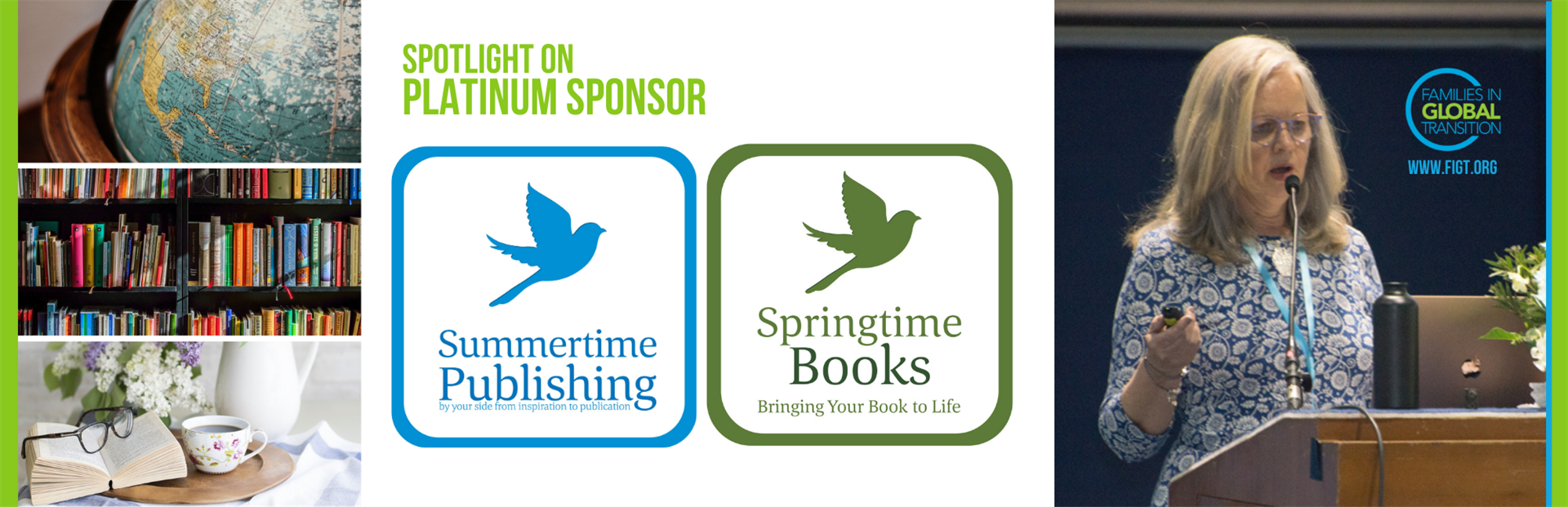 FIGT Platinum sponsor Summertime Publishing and Springtime Books