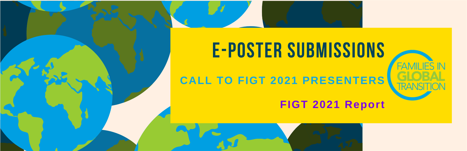 call for e-poster submissions from FIGT2021 presenters